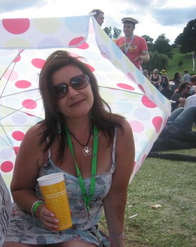 me at Big Chill 2008
