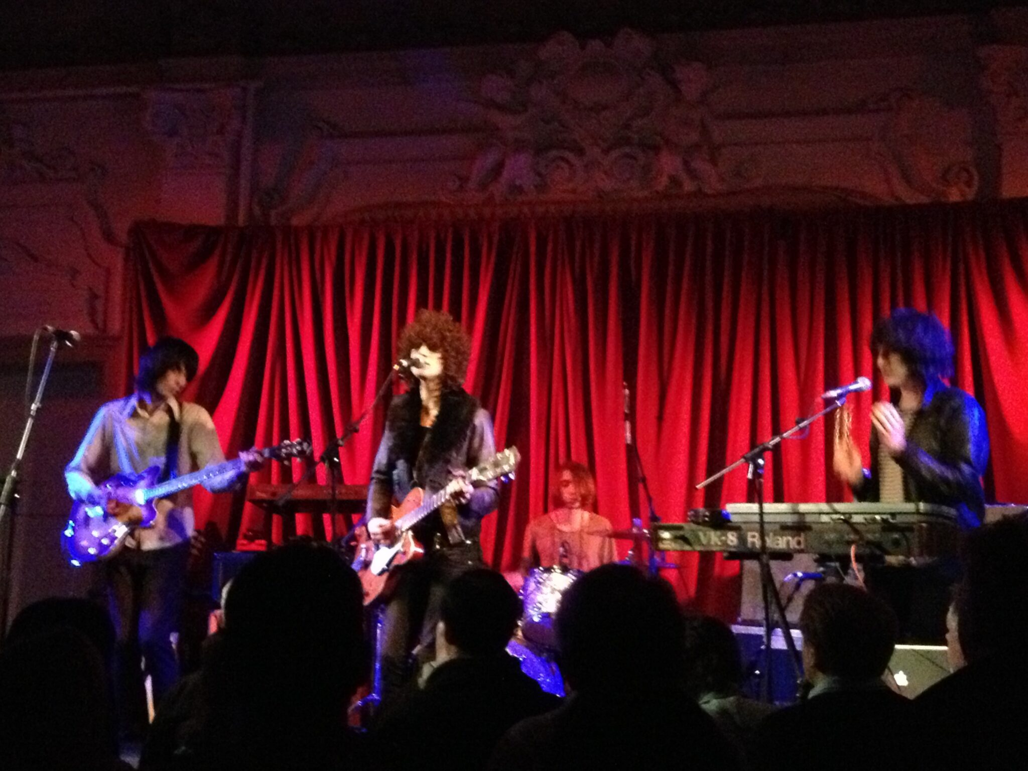 Temples play Bush Hall, 2012