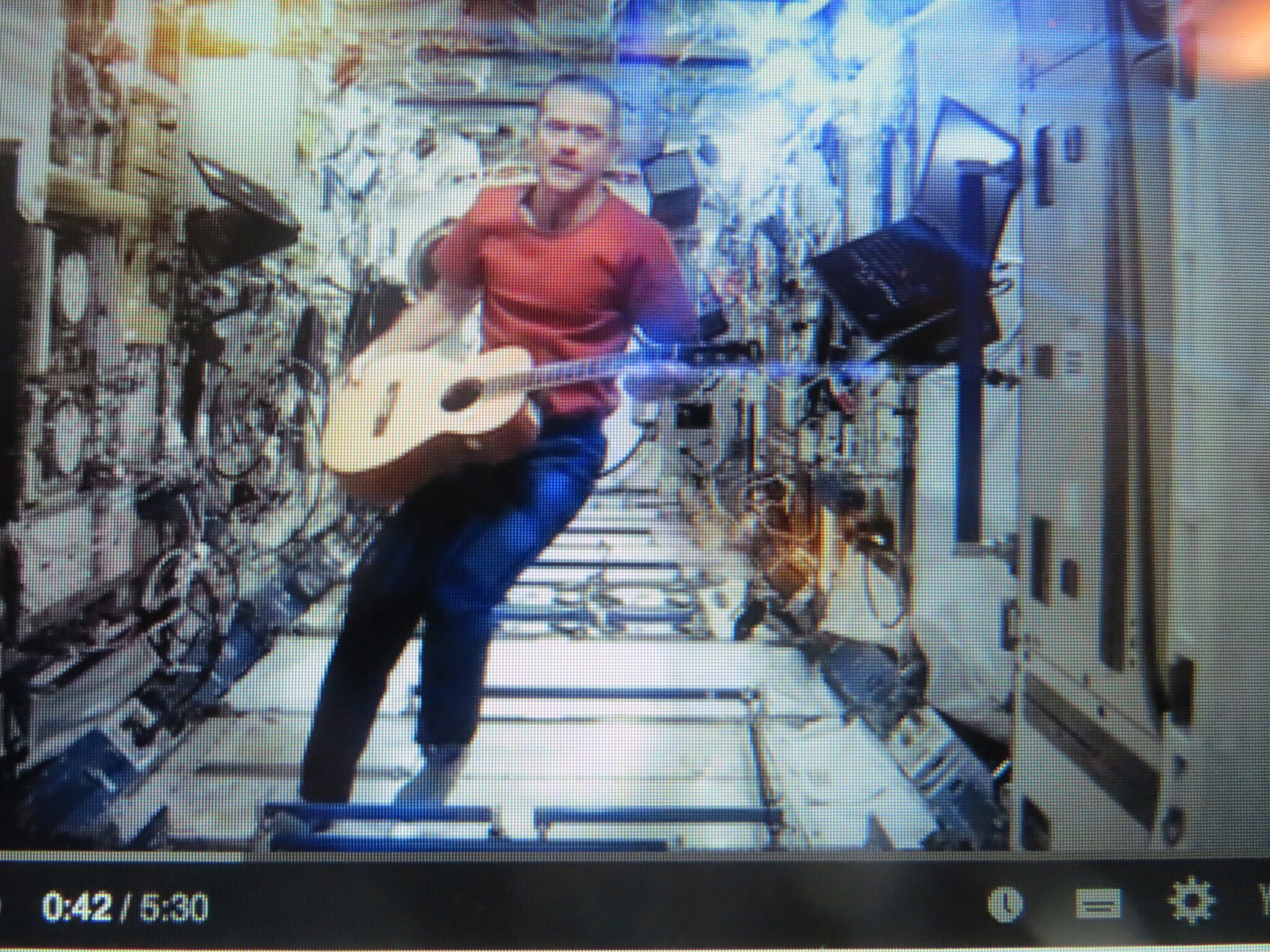 Chris Hadfield video