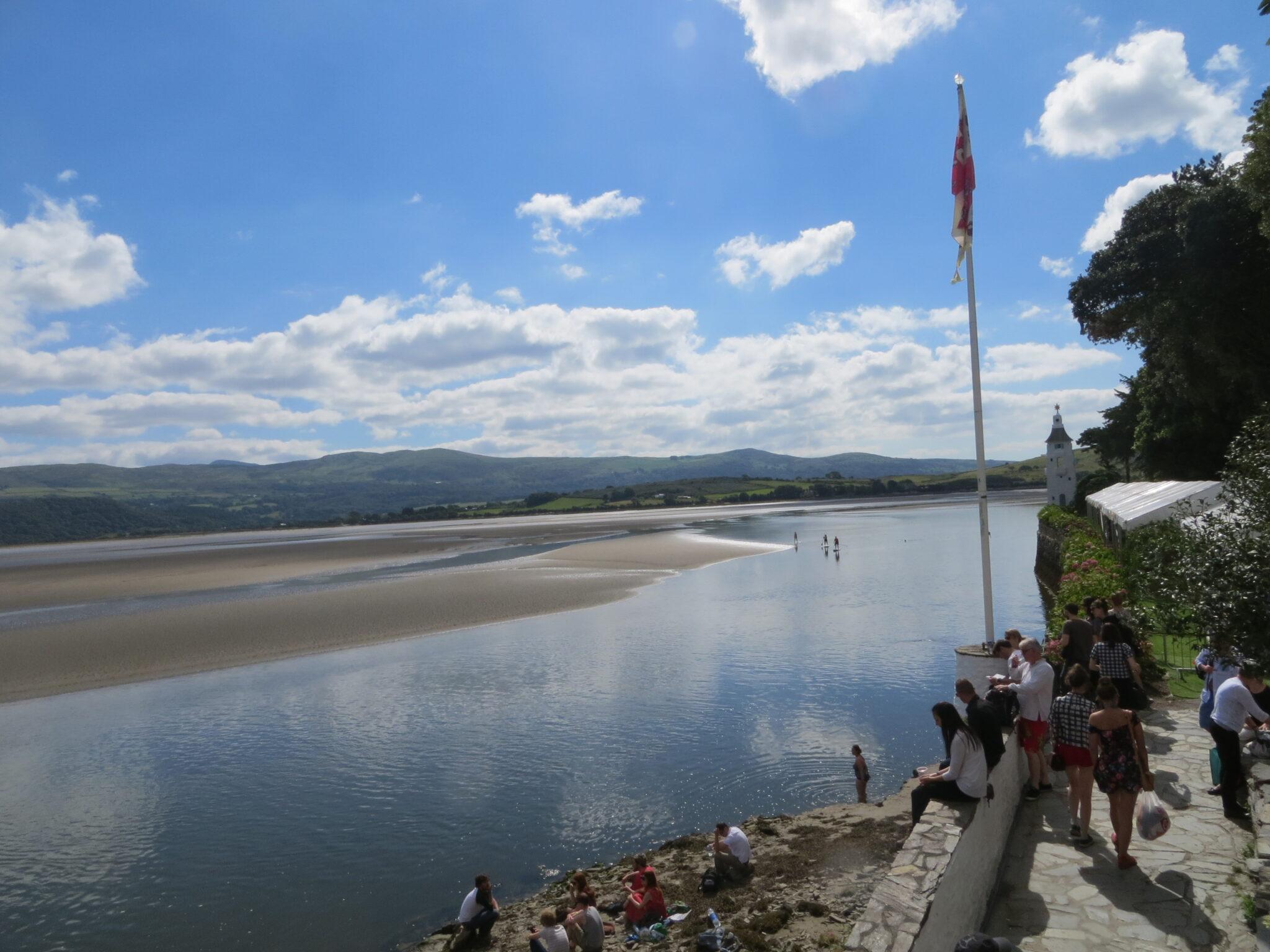 Festival No 6 estuary