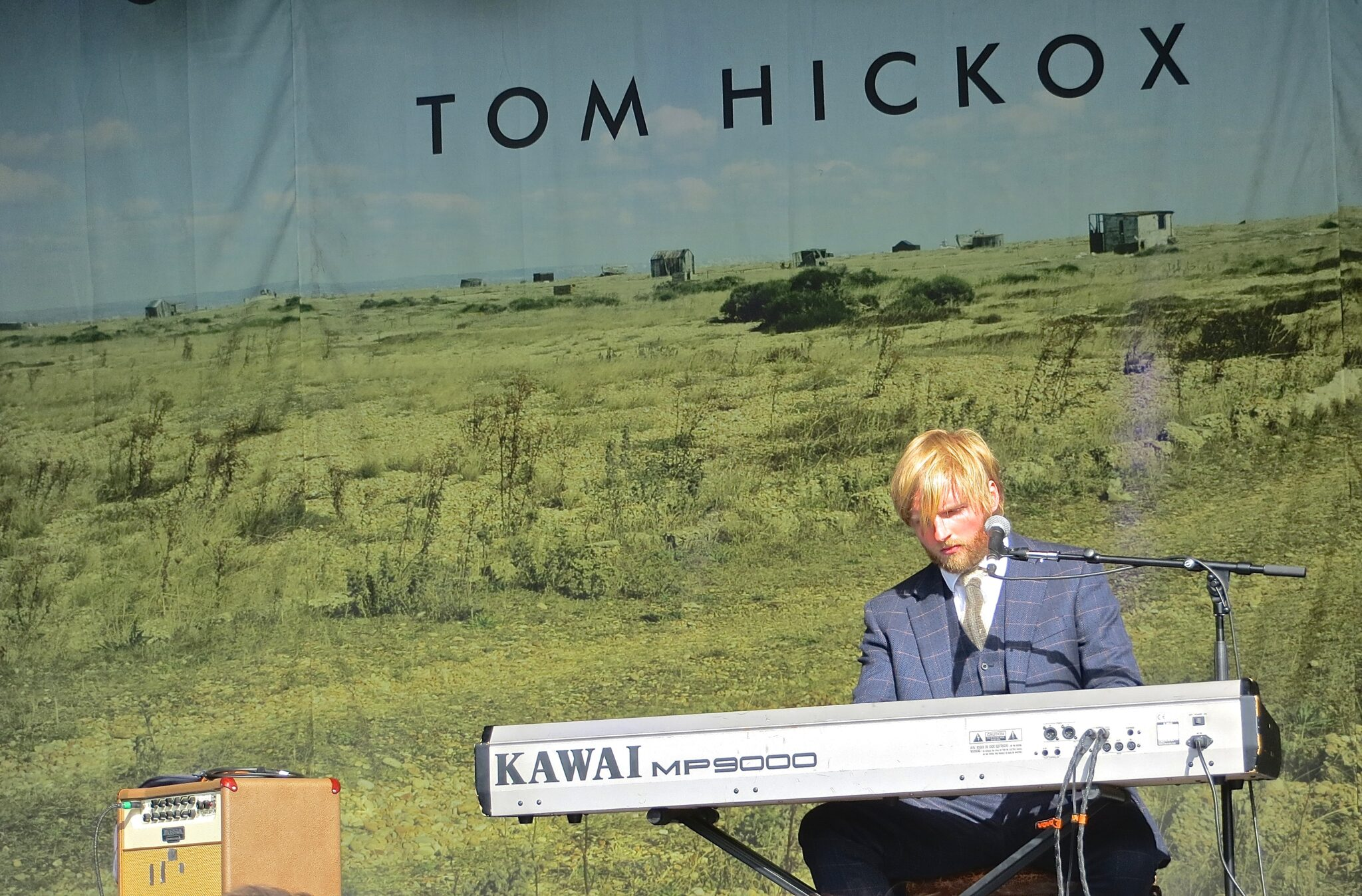 Tom Hickox at Portmeirion Festival No 6