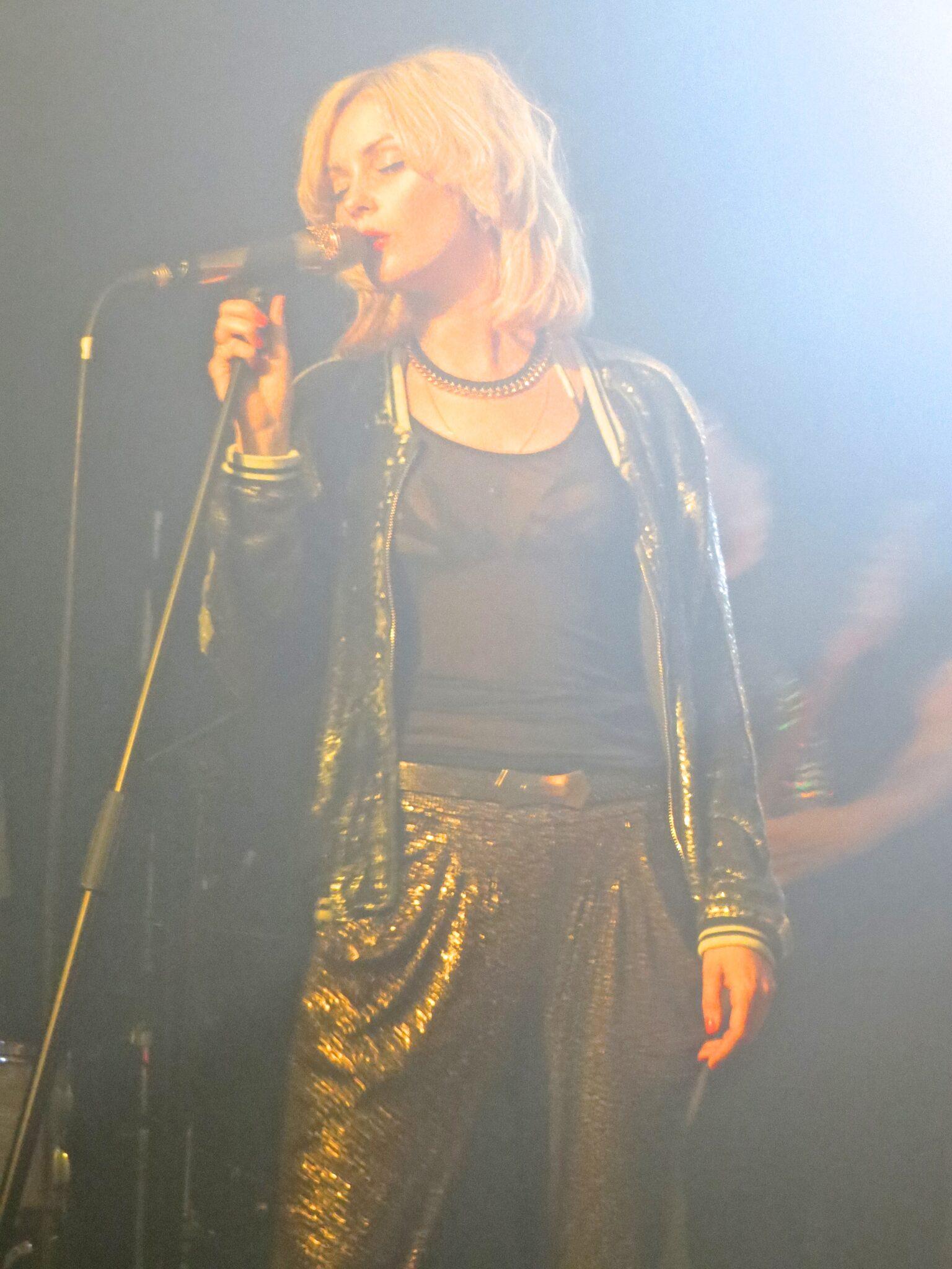Meeta Lindberg on stage at Oslo