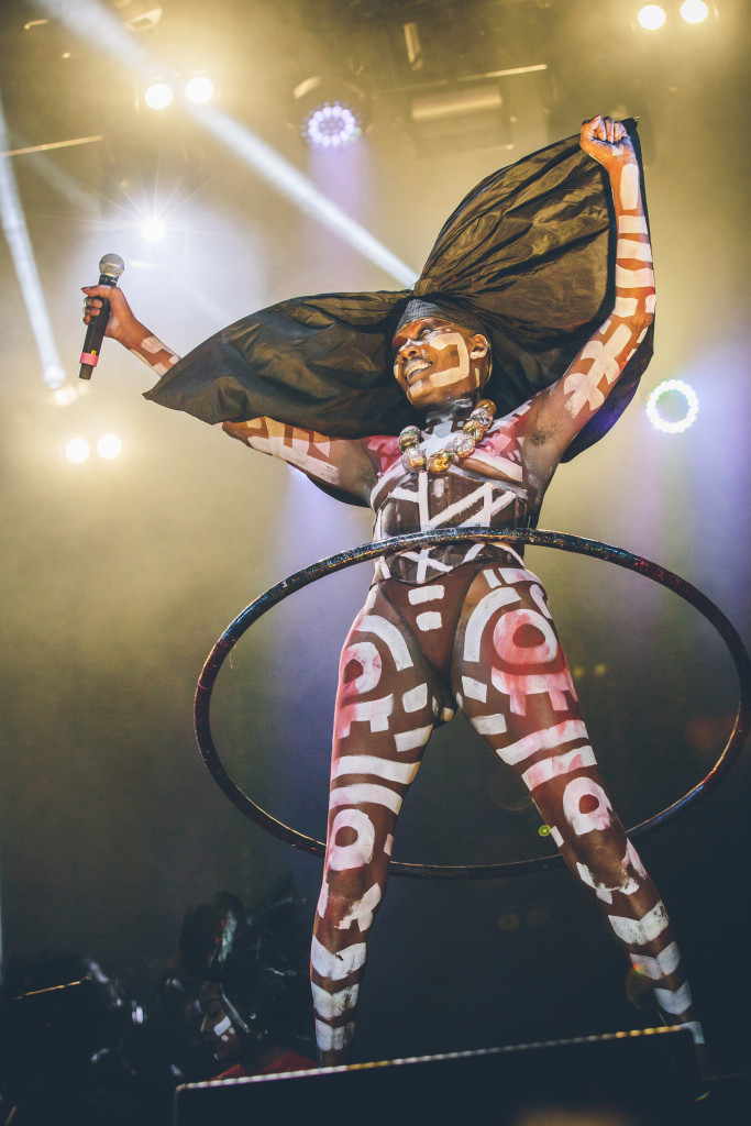 Grace Jones on the Main Stage