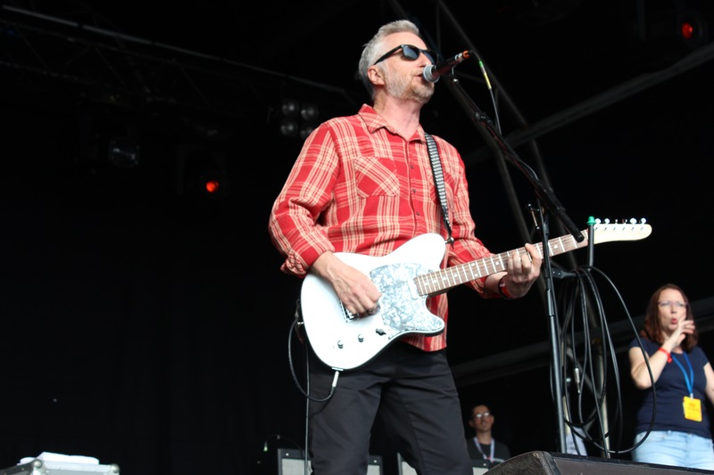 Billy Bragg at Bearded Theory 2016