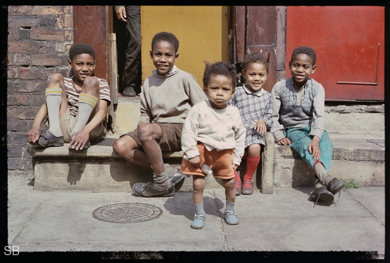 Children in Manchester Shirley Baker