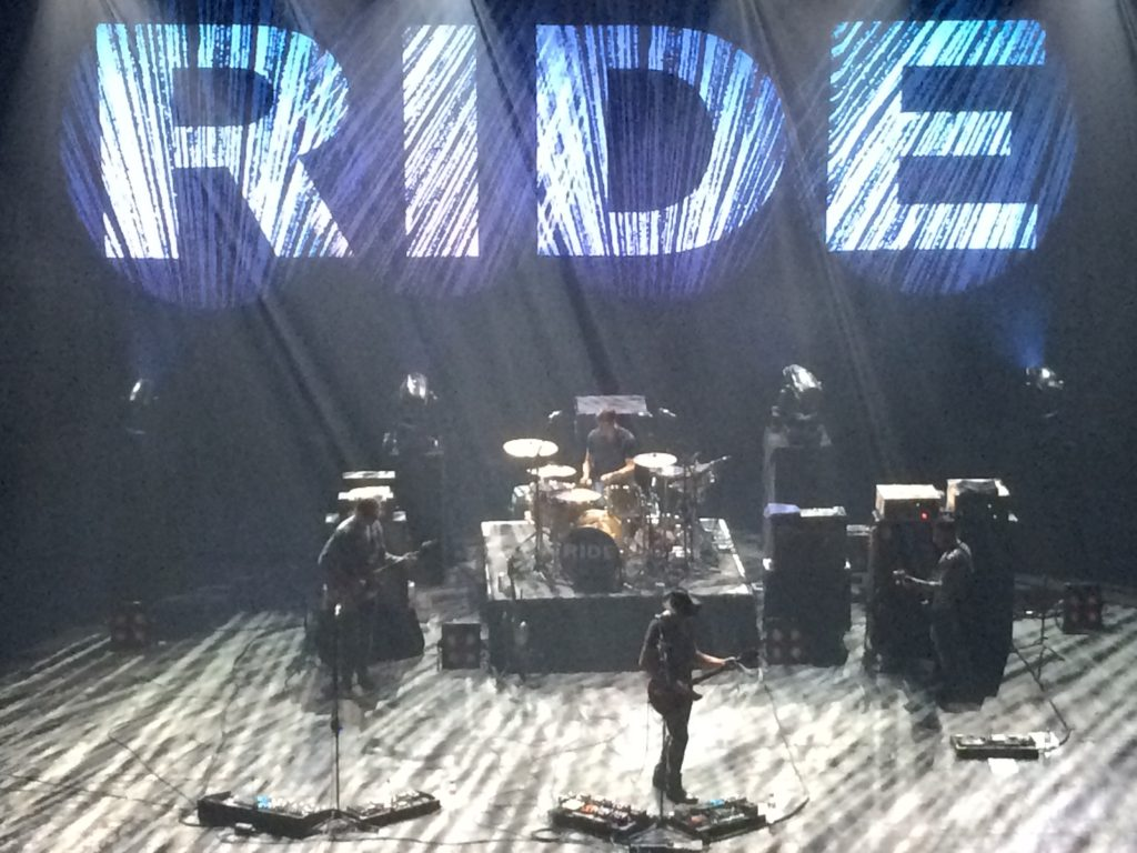 Ride on stage Brixton 2015