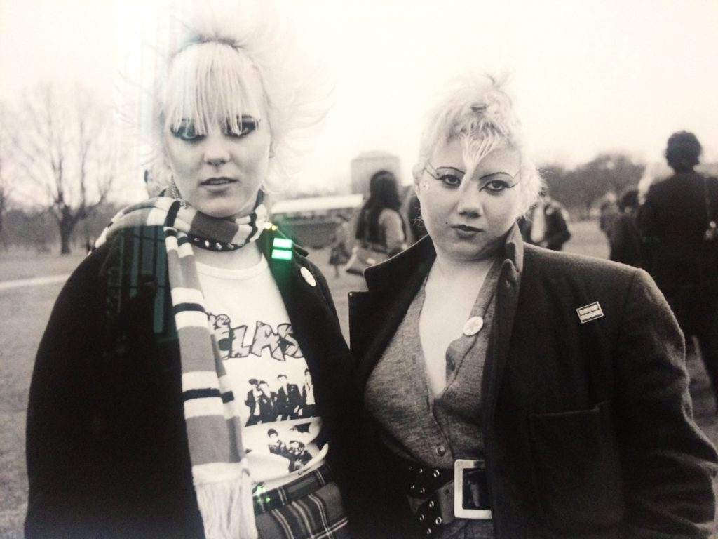 Two Punk Girls Janette Beckman