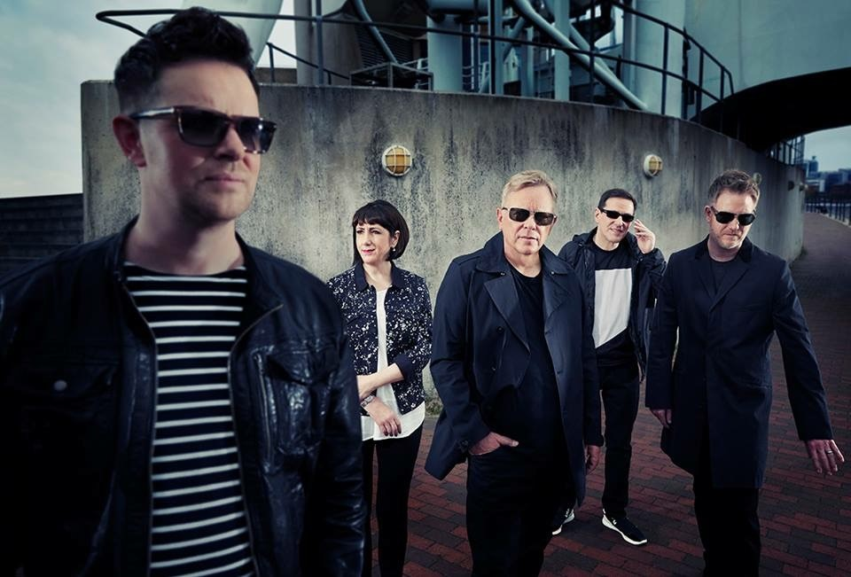 New Order who are set to headline at Bluedot this year