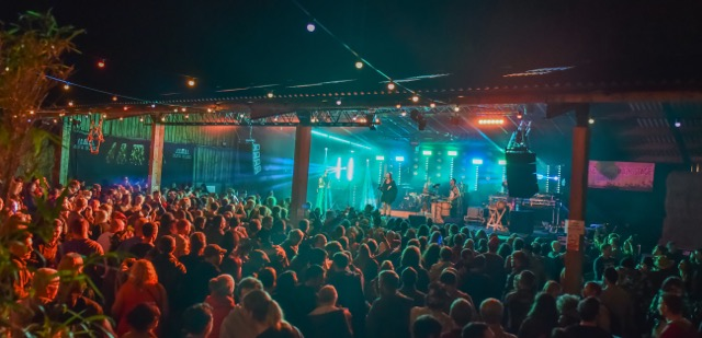 Moovin festival stage