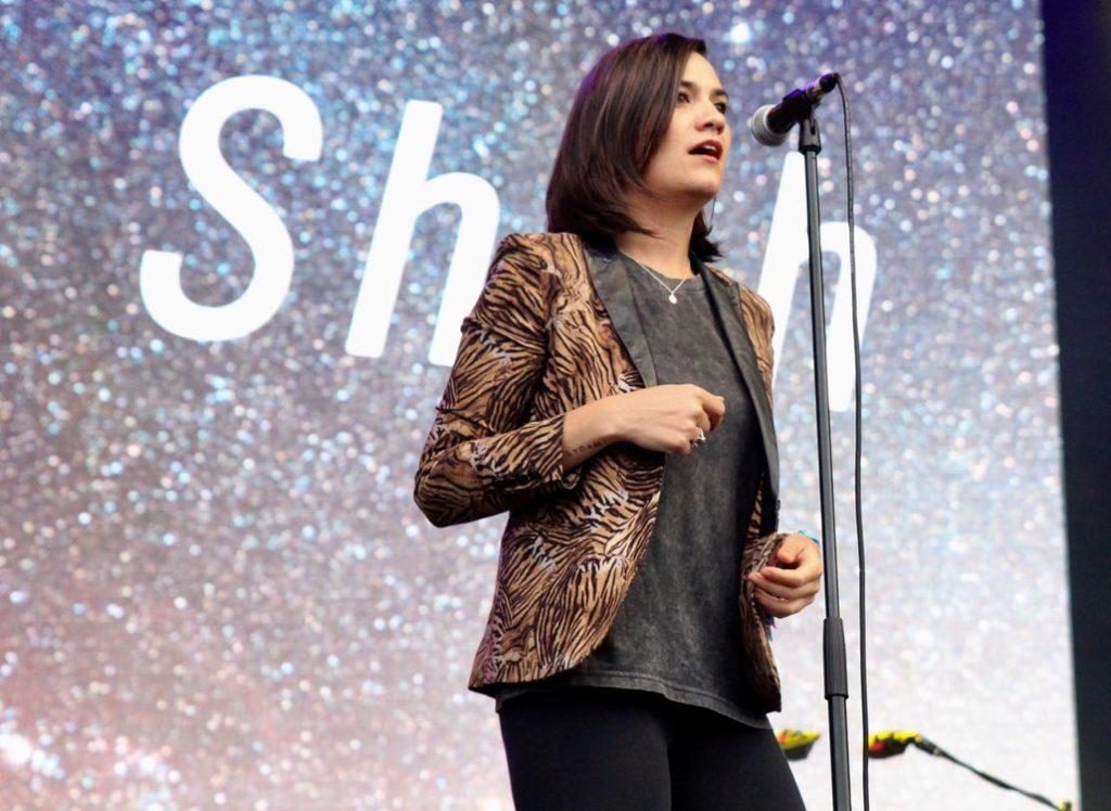 Nadine Shah at Bluedot festival