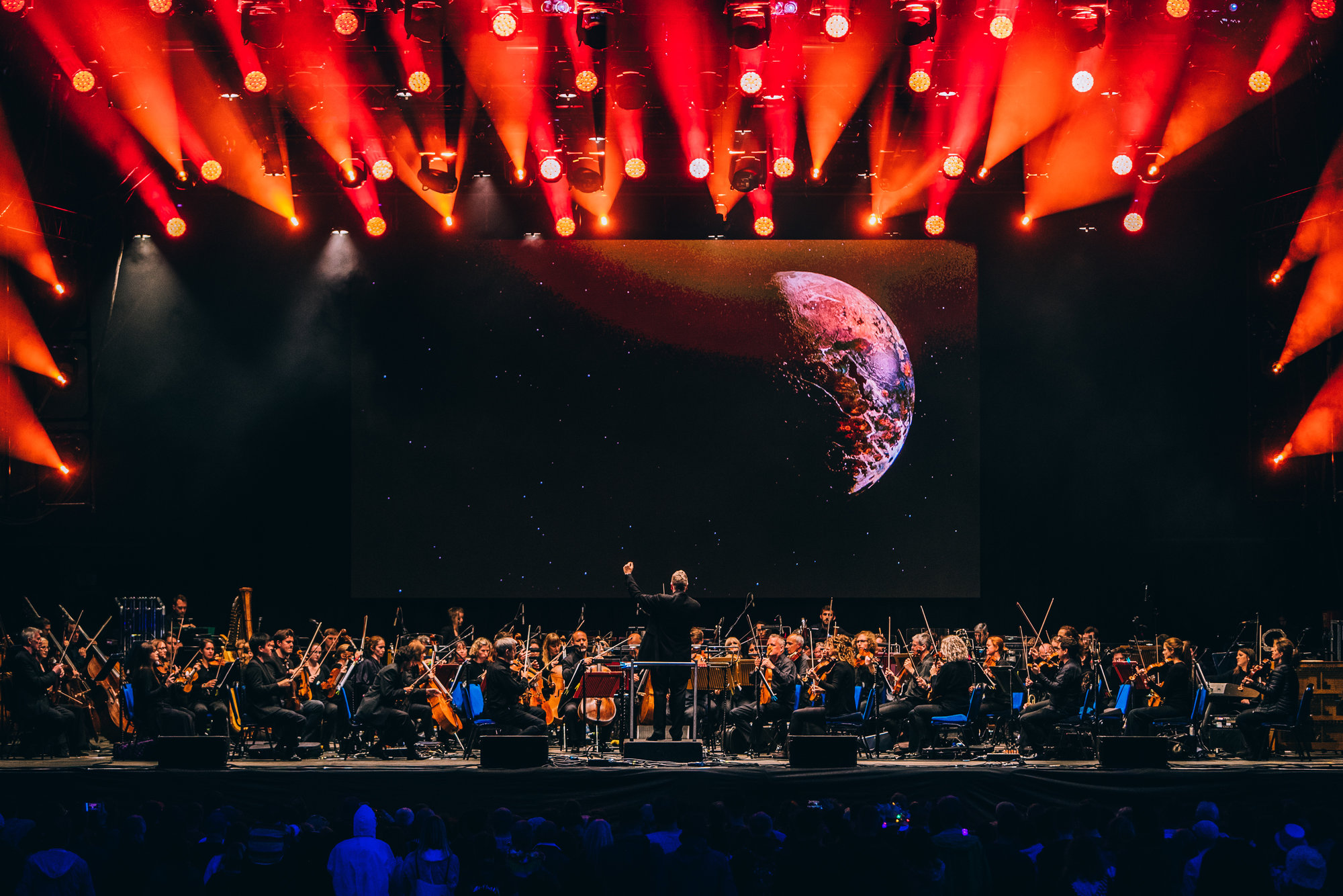 The Halle orchestra at Bluedot festival
