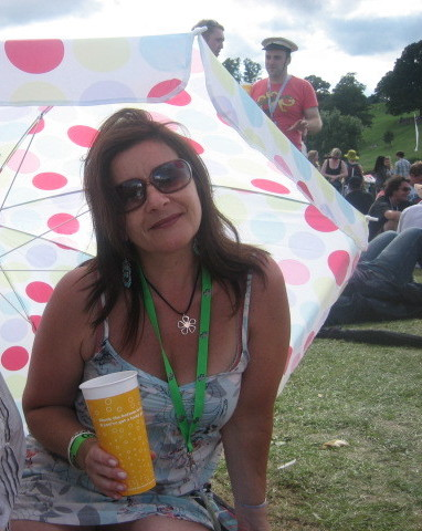 me at Big Chill 2008
