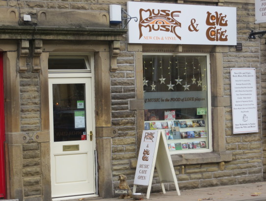 Muse record shop Hebden Bridge