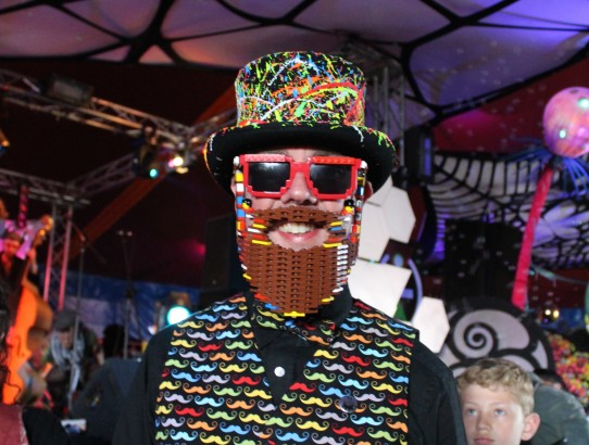 Bearded Theory Lego beard